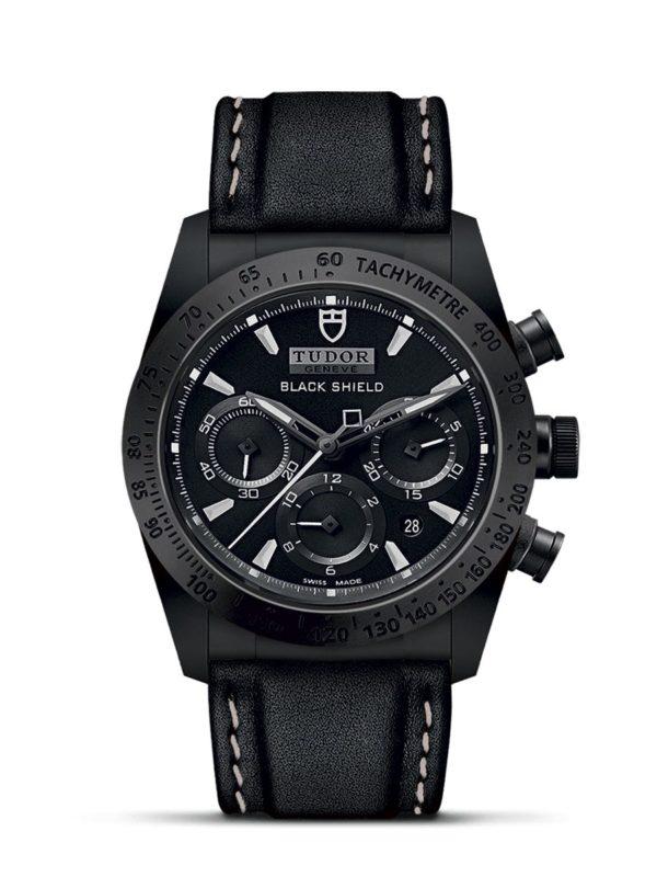 TUDOR FASTRIDER BLACK SHIELD M42000CN-0017