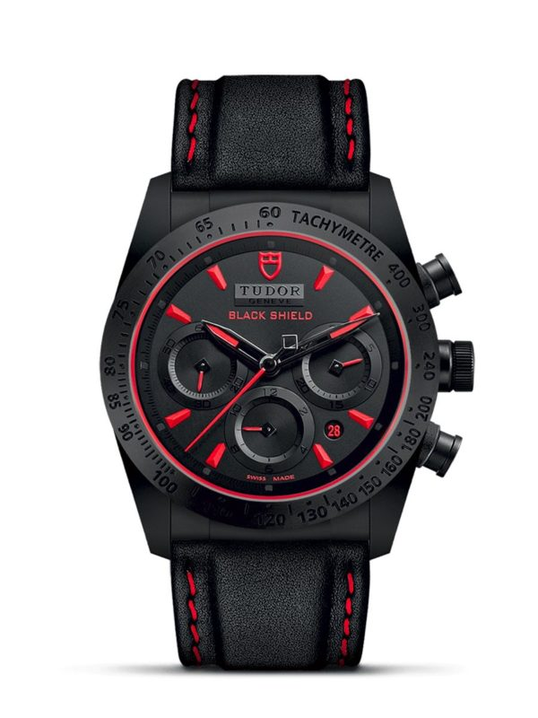 TUDOR FASTRIDER BLACK SHIELD M42000CR-0002
